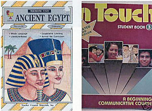 (2)AN CIENT EGYPT +IN TOUCH-WHOLE LANGUAGE ARTS ACTIVITIES