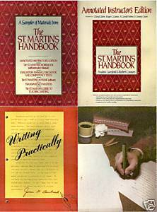 4-ST.MARTIN'S HANDBKS;HELP YOURSELF;WRITING PRACTICALLY