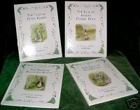 BeatrixPotter-PeterRabbit,BenBunny,TomKitten;JemimaDuck-Classic stories-Like New