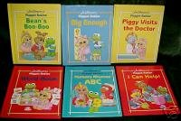 6 MUPPET BABIES,WORDS,BASIC CONCEPTS,1stBK CLUB,NEW HC4