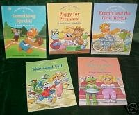5 MUPPET BABIES,WORDS,BASIC CONCEPTS,1stBK CLUB,NEW M#1