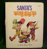 Santa's Toy Shop (A Dean Board Book) VINTAGE 1980