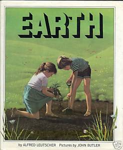 Earth by Alfred Leutscher-CLAY,CHALK,SAND,HUMUS,SOIL TYPES, ECOLOGY;1983 HCDJ