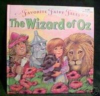 THE WIZARD OF OZ,FAVORITE FAIRY TALES (ROCHELLE LARKIN)