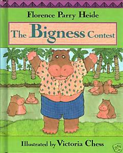 The Bigness Contest-Florence Heide;Individuality;Hippopotamus;ACHIEVE SELF-ESTEE