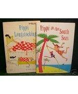 PIPPI & PIPPI IN THE SOUTH SEAS- VINTAGE PAPERBACKS - $5.75