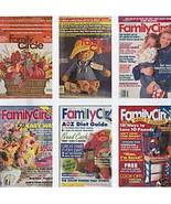 6)FAMILY CIRCLE 1972-92 CRAFTS;DECOR;MONEY;RECIPES;DIET - $24.99