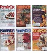 6) FAMILY CIRCLE 2002 CRAFTS;DECOR;MONEY;RECIPES;HEALTH - $24.99