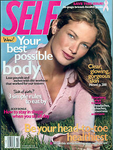 SELF-October 2002-Carolyn Murphy Gorgeous In The Grass