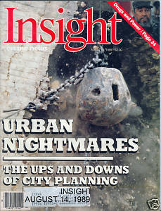 INSIGHT ON THE NEWS AUG 14,1989 URBAN NIGHTMARES-DRUGS