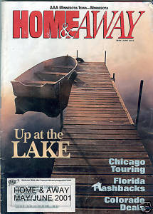 Home & Away May/June 2001-UP@THE LAKE;CHICAGO;FLA;CO.