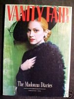 VANITY FAIR Nov 1996 THE MADONNA DIARIES!ReneeZellweger