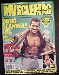 Musclemag May 1990-Lee Labrada Cover; Troy Zuccolotto