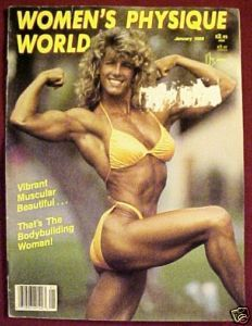 WOMEN'S PHYSIQUE WORLD January 1989-Tara Dodane Cover