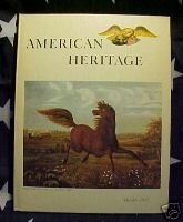 AMERICAN HERITAGE MAG-OCT 1963-COWHAND;PARLOR;JEAN RIBA