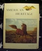 American Heritage MAG-OCT 1963-COWHAND;PARLOR;JEAN Riba - $9.99
