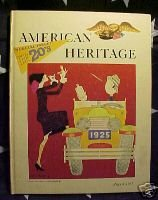 AMERICAN HERITAGE MAG-AUG 1965-THE 20'S:RESTLESS DECADE