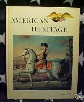 AMERICAN HERITAGE MAG-AUG 1963-CHICAGO BURNED;JAPAN ART