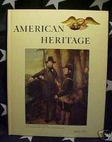 AMERICAN HERITAGE MAG-APRIL 1963-SALOON; CARL BODMER