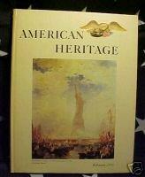 AMERICAN HERITAGE MAG-FEB 1966-AUDUBON;AARON BURR;LAND