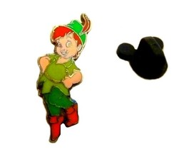 Walt Disney Baby Peter Pan Pin Authentic Disney World Rubber Tac Collect... - $19.57