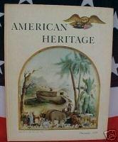 AMERICAN HERITAGE MAG-DEC 1959-ELIZABETHANS & AMERICA