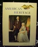AMERICAN HERITAGE MAG-DEC 1962-GOLD,MORMONS,CHURCHILL