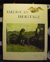 AMERICAN HERITAGE MAG-FEB 1962-PR.SCHOONER,PEARL HARBOR
