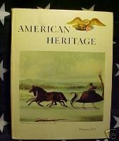 AMERICAN HERITAGE MAG-FEB 1961 PHILADELPHIA-1ST 100 Yrs