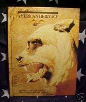 AMERICAN HERITAGE MAG-OCT 1977-U-2,CUBA,CIA;GRIZZLIES