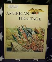 AMERICAN HERITAGE MAG-OCT 1968-WWI POSTERS;ERIE CANAL