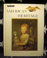 AMERICAN HERITAGE MAG-DEC 1972-20'S;CHILDREN;CAPITALISM