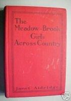 MEADOW-BROOK GIRLS ACROSS COUNTRY-JANET ALDRIDGE,1913