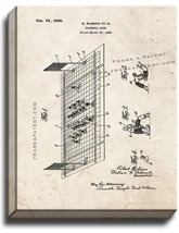 Football Game Patent Print Old Look on Canvas - $39.95+