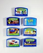 Lot of 7 Leapfrog LeapPad Leapster Game Cartridges - Nickelodeon, Disney Pixar - $18.95