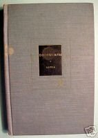 Dodsworth: A novel by Sinclair Lewis;Modern Library1947