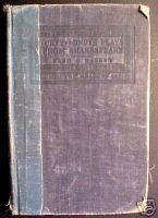 Forty-Five Minute Plays from Shakespeare, 1924,w/ Illus