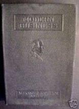 Modern Business, vol 3-Business Organization, 1921 - $9.97