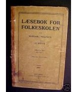 Laesebok for Folkeskolen by Nordahl Rolfsen,1911 Sweden - $15.97