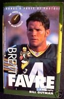 Brett Favre:A Biography-Bill Gutman-8 pages of photos