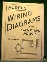AUDELS WIRING DIAGRAMS FOR LIGHT& POWER (ANDERSON) 1945
