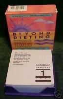 Beyond Dieting:365 Meditations,Hazelden,Flip-calendar