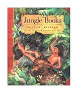 Jungle Books by Rudyard Kipling (1992) HC CLASSIC ,ILL. - $9.99
