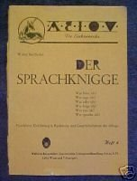 DER SPRACHKNIGGE-WALTER SEIDLHOFER, GERMAN GRAMMAR LANGUAGE