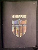 MINNEAPOLIS ALL AMERICA CITY- Chamber of Commerce,c1970