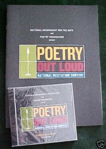 POETRY OUT LOUD-The Anthology BK&CD-Nat. Endowment ARTS