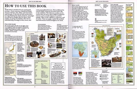 DK Geography of the World-HOMESCHOOL REFERENCE-Earth-Land,People,Animals,Plants