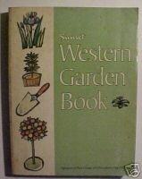 Sunset Western Garden Book (1979) VINTAGE GARDENING BK
