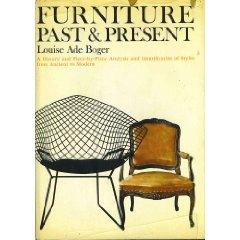 FURNITURE PAST&PRESENT:HISTORY/ANALYSIS/STYLES-REFERENCE