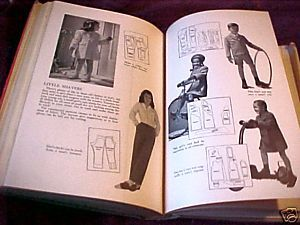 THE NEW ENCYCLOPEDIA OF MODERN SEWING,SALLY DICKSON;HCDJ 1943;1940's Fashions